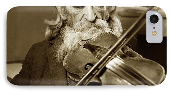 The Old Violonist IPhone Case