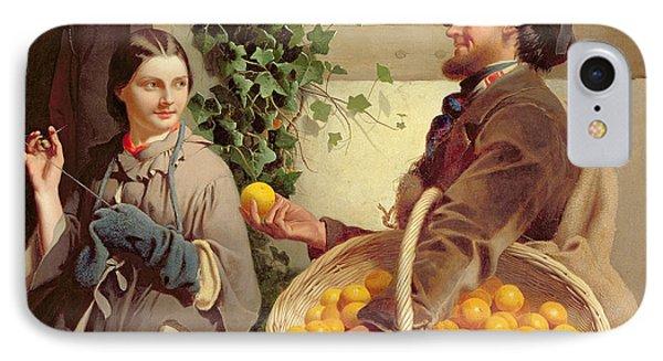 The Orange Seller  Phone Case by William Edward Millner