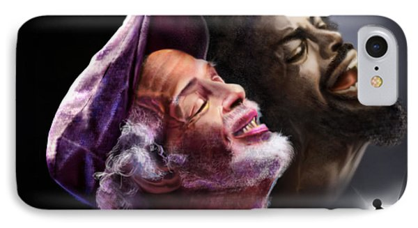 The Other Side-gil Scott Finally Going Home Phone Case by Reggie Duffie
