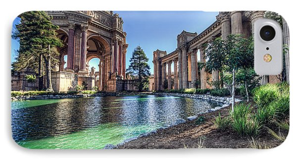 The Palace Of Fine Arts Phone Case by Everet Regal