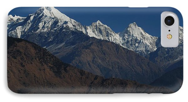 IPhone Case featuring the photograph The Panchchuli Range by Fotosas Photography