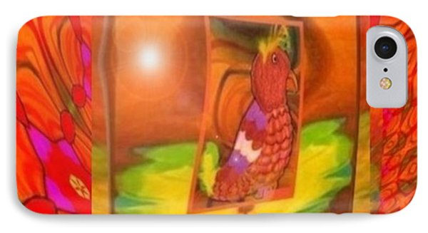 The Parrot From Conneaut Lake Memories IPhone Case by Ray Tapajna