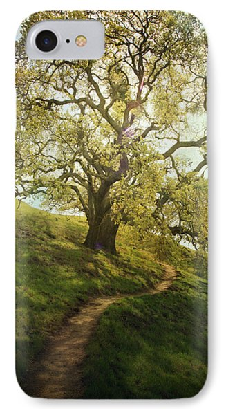 The Path To Brighter Days Phone Case by Laurie Search