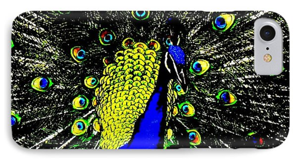 IPhone Case featuring the photograph The Peacock by John King