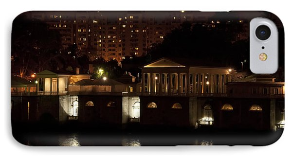 The Philadelphia Waterworks All Lit Up Phone Case by Bill Cannon