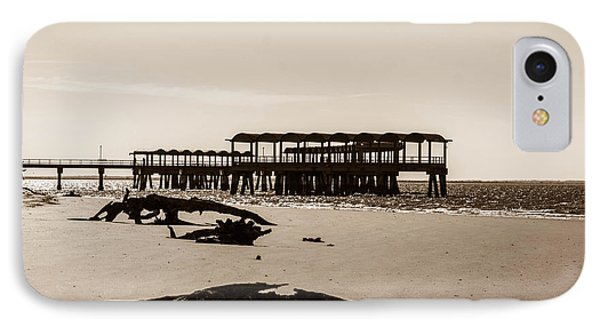 IPhone Case featuring the photograph The Pier by Shannon Harrington