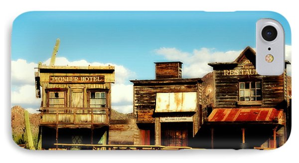 The Pioneer Hotel Old Tuscon Arizona Phone Case by Susanne Van Hulst