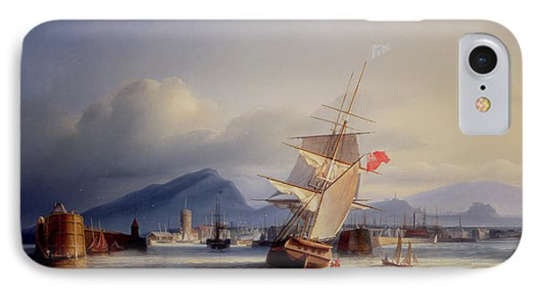 The Port Of Leith Phone Case by Paul Jean Clays