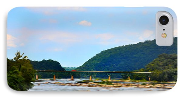 The Potomic River West Virginia Phone Case by Bill Cannon