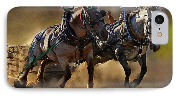 IPhone Case featuring the photograph The Power Of Two by Davandra Cribbie