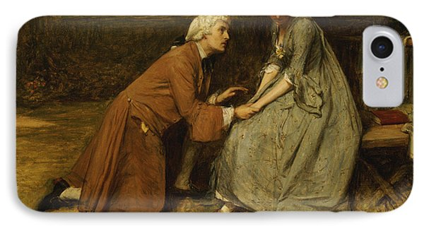 The Proposal IPhone Case by John Pettie