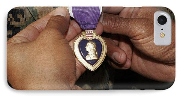 The Purple Heart Award Phone Case by Stocktrek Images