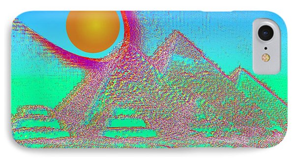 The Pyramids Phone Case by Helmut Rottler