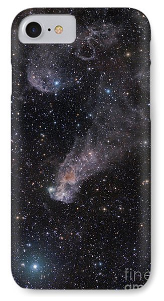 The Question Mark Nebula In Orion Phone Case by John Davis