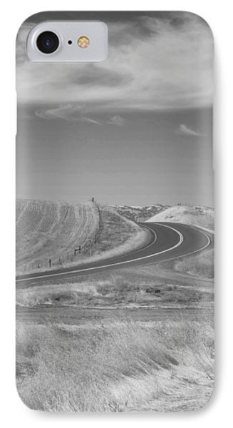 IPhone Case featuring the photograph The Quiet Road by Kathleen Grace