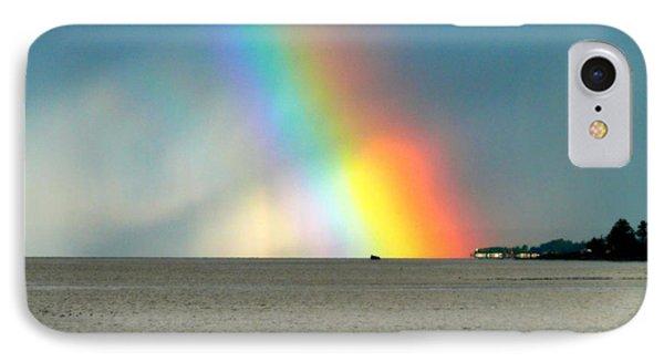 The Rainbow's Edge IPhone Case