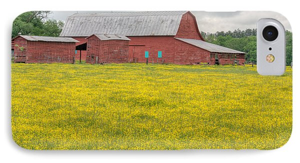 The Red Barn Phone Case by JC Findley