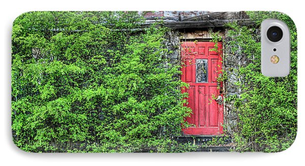 The Red Door Phone Case by JC Findley