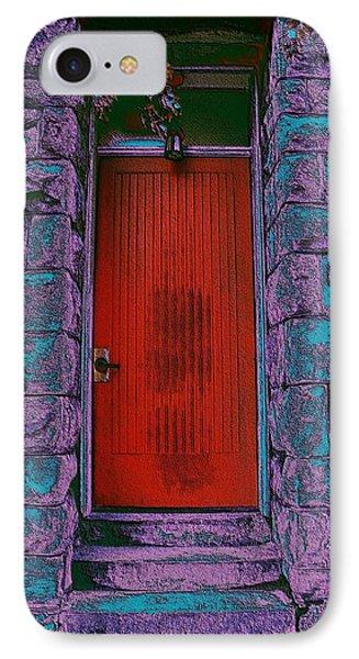 The Red Door Phone Case by Tim Allen