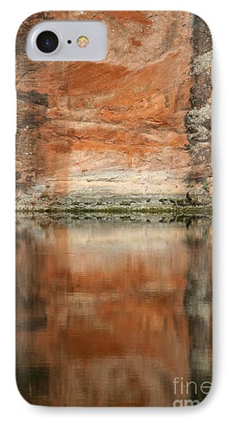 IPhone Case featuring the photograph The Reflecting Wall by Nola Lee Kelsey