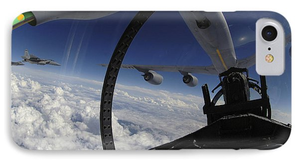 The Refueling Boom From A Kc-135 Phone Case by Stocktrek Images