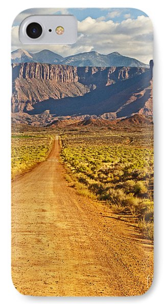 The Road Beckons Phone Case by Bob and Nancy Kendrick