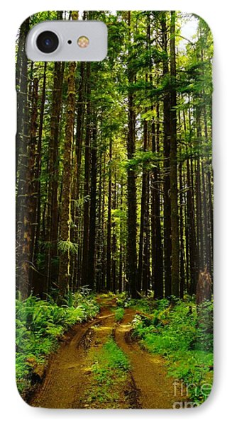 The Road Into The Green  Phone Case by Jeff Swan
