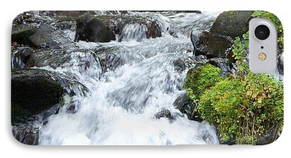 IPhone Case featuring the photograph The Roadside Stream by Chalet Roome-Rigdon
