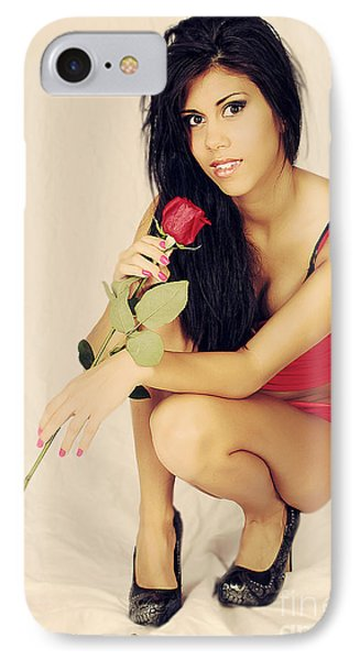 The Rose IPhone Case by Billie-Jo Miller