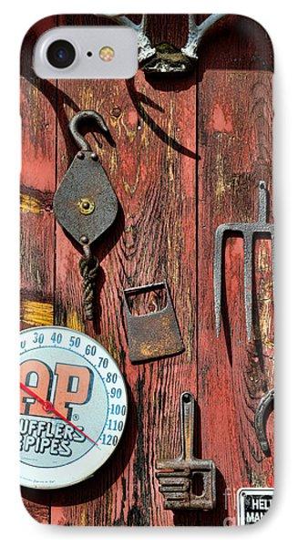 The Rusty Barn - Farm Art Phone Case by Paul Ward