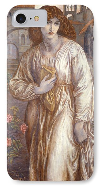 The Salutation  Phone Case by Dante Charles Gabriel Rossetti