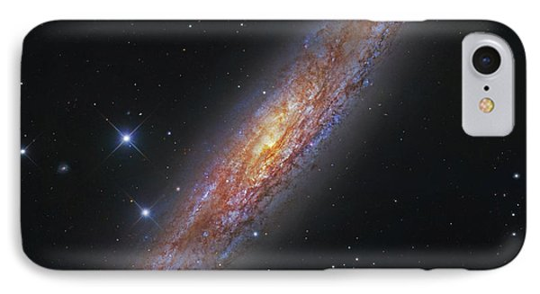 The Sculptor Galaxy, Ngc 253 Phone Case by Robert Gendler