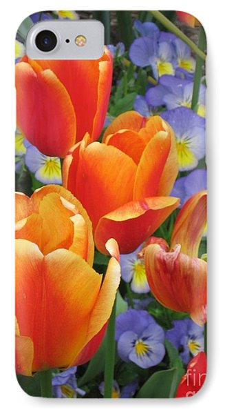 The Secret Life Of Tulips - 2 IPhone Case by Rory Sagner