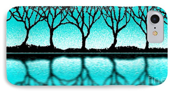 The Seven Trees IPhone Case