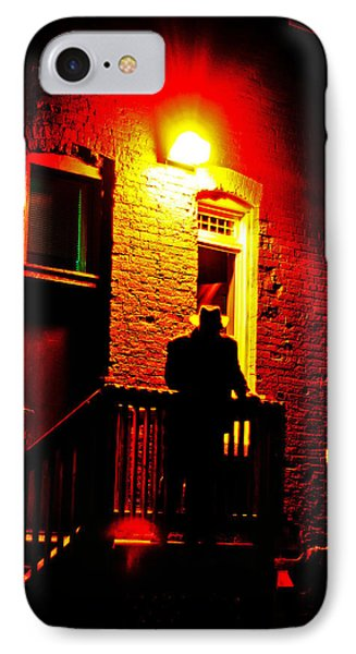 IPhone Case featuring the photograph The Shadow by Randall  Cogle