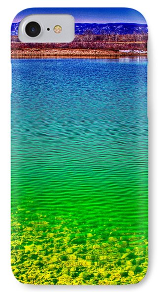 The Shallow End Of Eaglewatch Lake IPhone Case by David Patterson