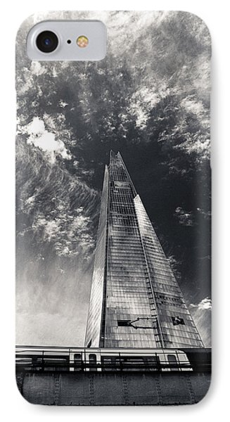 The Shard And London Bridge IPhone Case by Lenny Carter