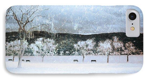 The Snow Storm Phone Case by Tara Turner