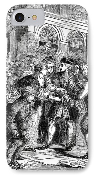 The South Sea Bubble, 1720 Phone Case by Granger