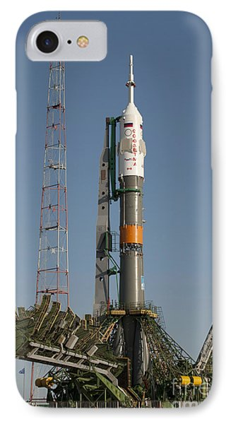 The Soyuz Rocket Shortly After Arrival Phone Case by Stocktrek Images