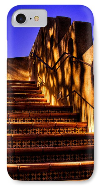 The Stairway At Tlaquepaque IPhone Case by David Patterson