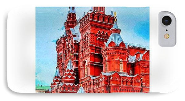The State Historical Museum (russian: IPhone Case by Tommy Tjahjono