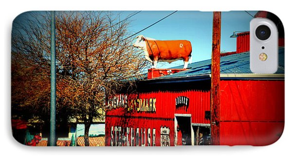 The Steakhouse On Route 66 Phone Case by Susanne Van Hulst