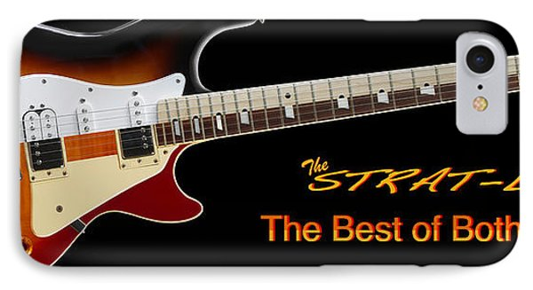 The Strat Les Guitar Phone Case by Mike McGlothlen