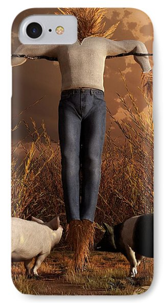 The Straw Man IPhone Case