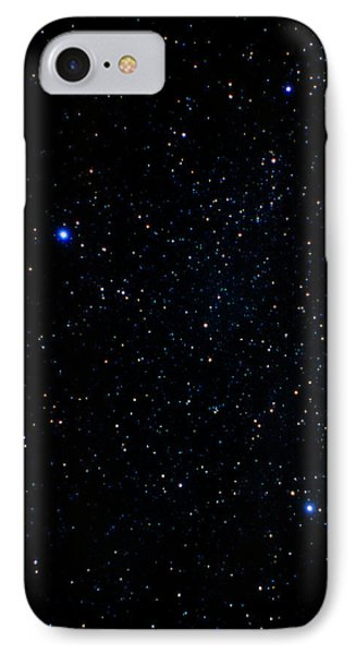 The Summer Triangle: Cygnus, Lyra And Aquila Phone Case by John Sanford