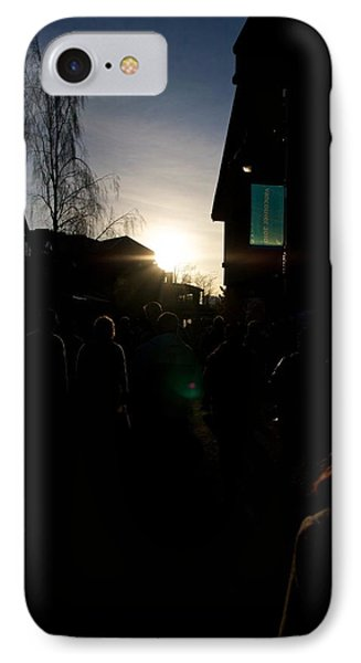 The Sun Departs Whistler Bc IPhone Case by JM Photography