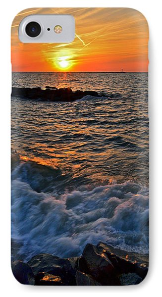 The Sun Is Wearing Shades Phone Case by Frozen in Time Fine Art Photography