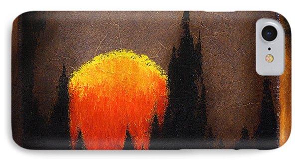 The Sun IPhone Case by Mauro Celotti