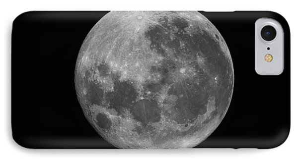 The Supermoon Of March 19, 2011 Phone Case by Phillip Jones